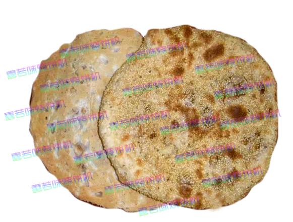 转盘式烧饼机成功做出了淄川肉烧饼